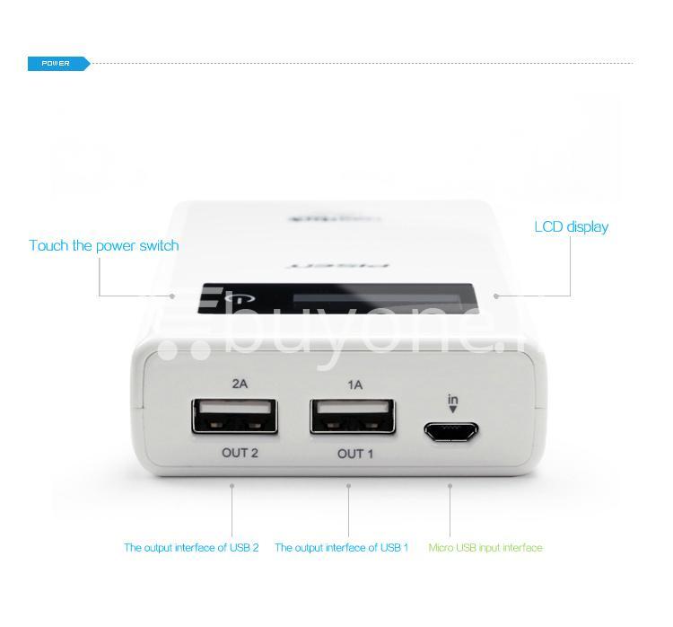 2013032014250534 - Original Pisen 7500mAh Digital LCD Mobile Power Bank