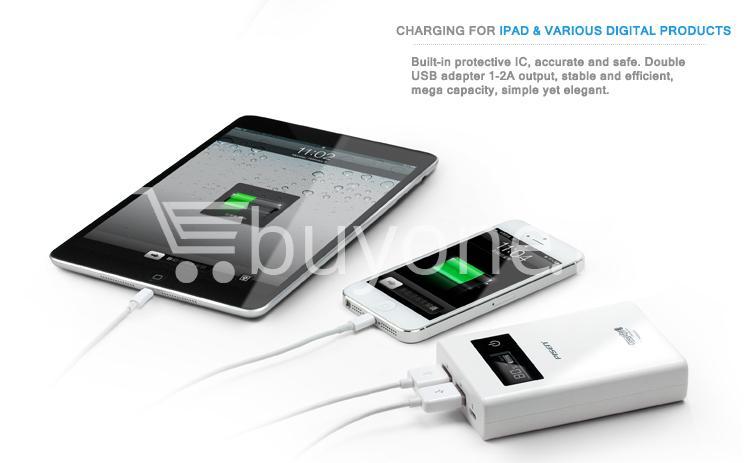 2013032014251764 - Original Pisen 7500mAh Digital LCD Mobile Power Bank