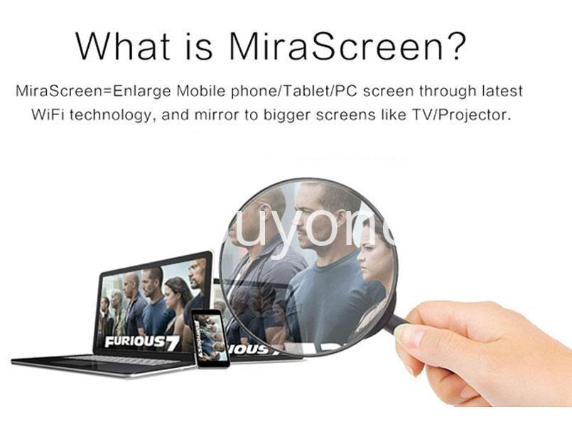 mirascreen wireless 1080p hdmi wifi display tv dongle miracast receiver for iphone samsung htc lg windows phone send gift christmas seasonal offer sri lanka buyone lk 8 - Connect Phone to TV Wireless in 1080p HDMI WiFi Display TV Dongle Miracast Receiver For iPhone, Samsung, HTC, LG, Windows Phone