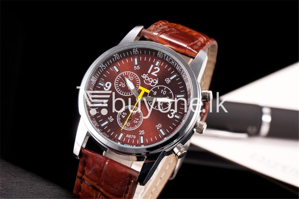 luxury crocodile faux leather mens analog watch men watches special best offer buy one lk sri lanka 10535 - Luxury Crocodile Faux Leather Mens Analog Watch