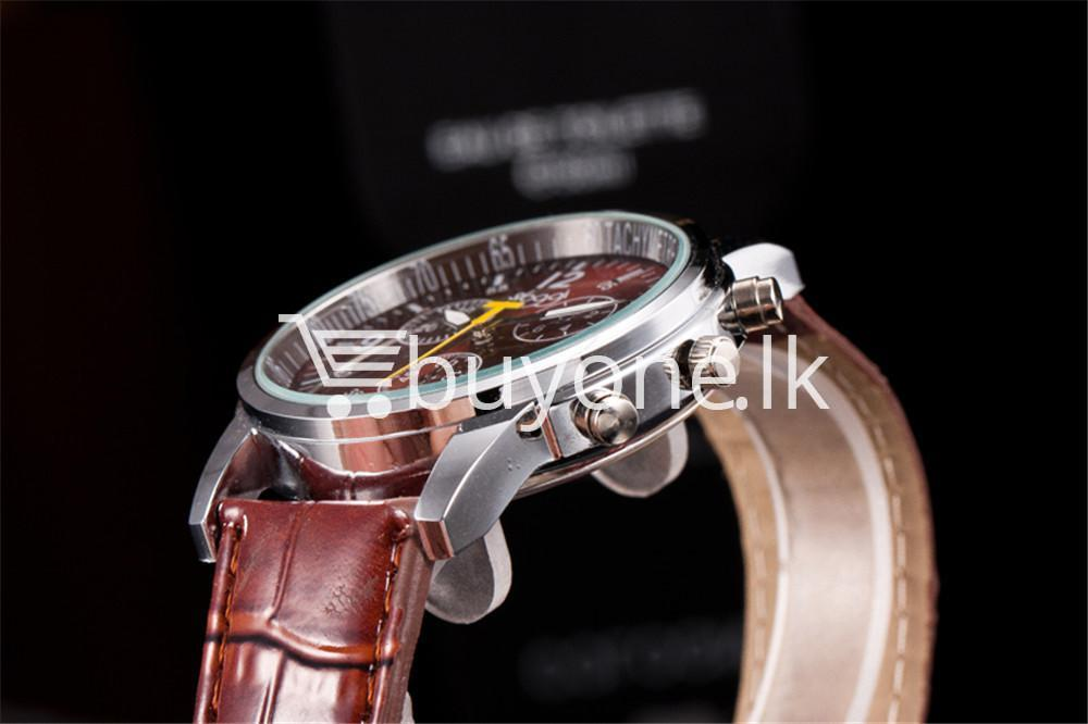 luxury crocodile faux leather mens analog watch men watches special best offer buy one lk sri lanka 10536 1 - Luxury Crocodile Faux Leather Mens Analog Watch