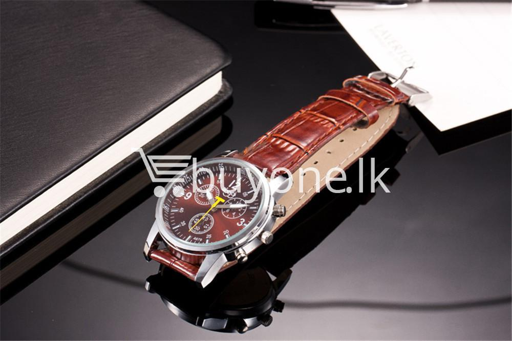 luxury crocodile faux leather mens analog watch men watches special best offer buy one lk sri lanka 10537 1 - Luxury Crocodile Faux Leather Mens Analog Watch