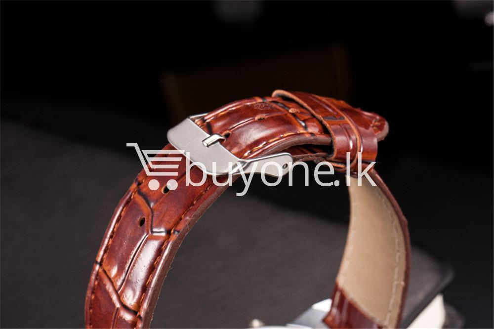 luxury crocodile faux leather mens analog watch men watches special best offer buy one lk sri lanka 10537 - Luxury Crocodile Faux Leather Mens Analog Watch