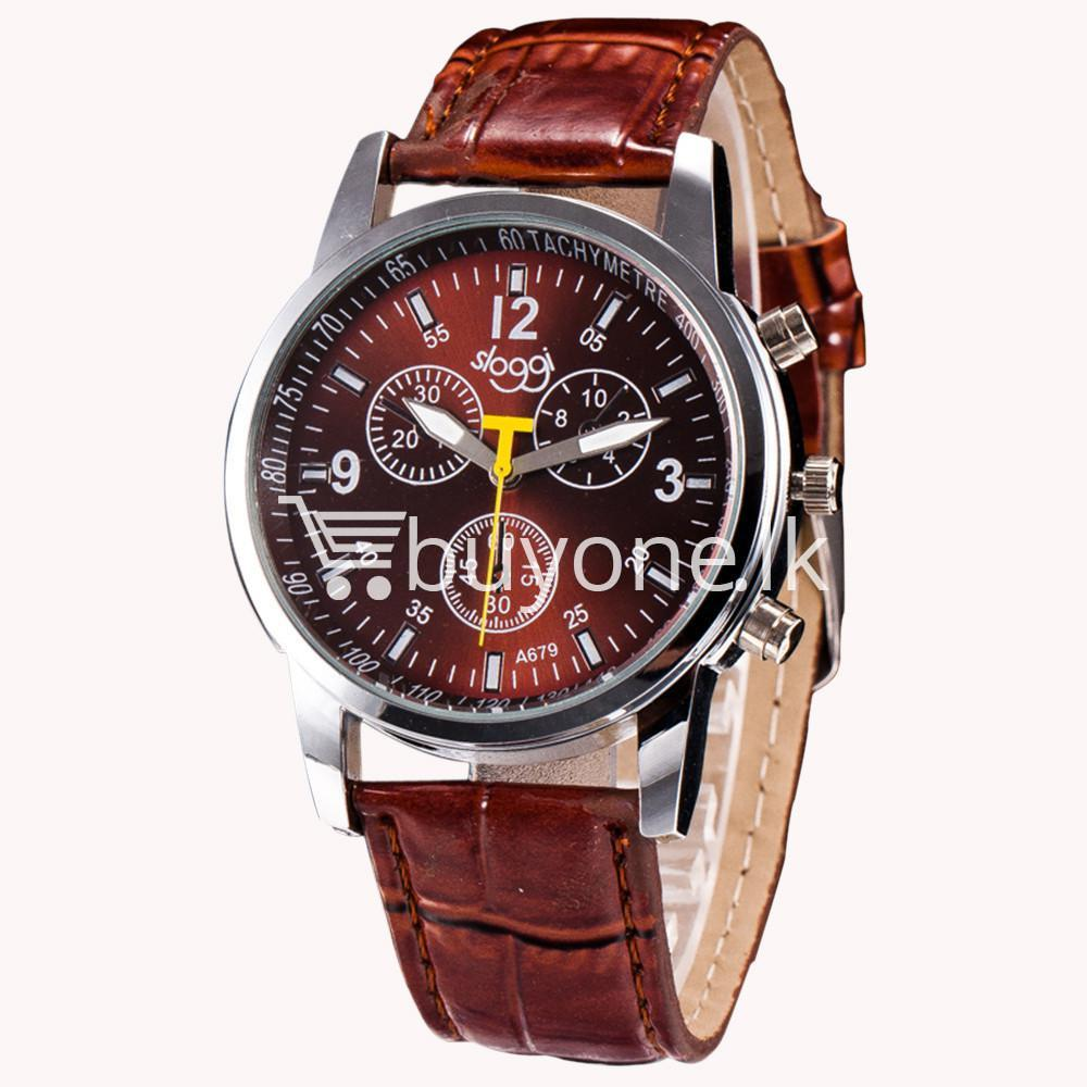 luxury crocodile faux leather mens analog watch men watches special best offer buy one lk sri lanka 10538 - Luxury Crocodile Faux Leather Mens Analog Watch