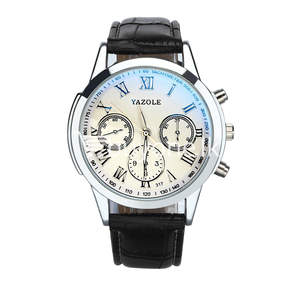 luxury fashion mens blue ray glass quartz analog watch men watches special best offer buy one lk sri lanka 10951 - Luxury Fashion Mens Blue Ray Glass Quartz Analog Watch