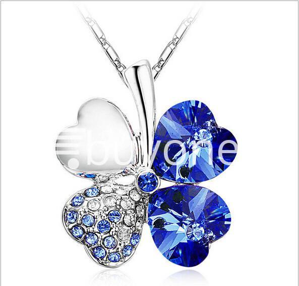 new 2016 silver crystal pendant chain necklace valentine gift jewelry store special best offer buy one lk sri lanka 12674 1 - New 2016 Silver Crystal Pendant Chain Necklace Valentine Gift