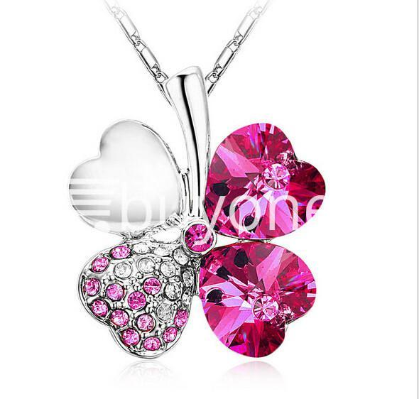 new 2016 silver crystal pendant chain necklace valentine gift jewelry store special best offer buy one lk sri lanka 12674 2 - New 2016 Silver Crystal Pendant Chain Necklace Valentine Gift