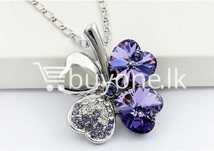 new 2016 silver crystal pendant chain necklace valentine gift jewelry store special best offer buy one lk sri lanka 12676 1 - New 2016 Silver Crystal Pendant Chain Necklace Valentine Gift