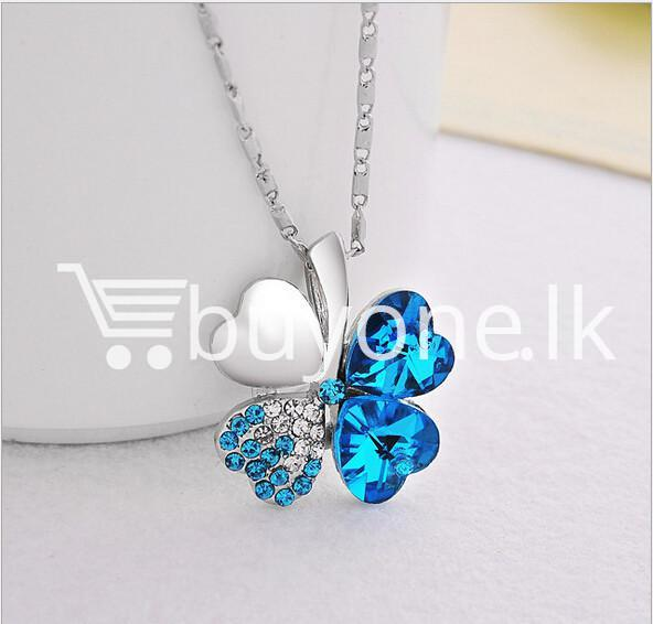 new 2016 silver crystal pendant chain necklace valentine gift jewelry store special best offer buy one lk sri lanka 12676 - New 2016 Silver Crystal Pendant Chain Necklace Valentine Gift