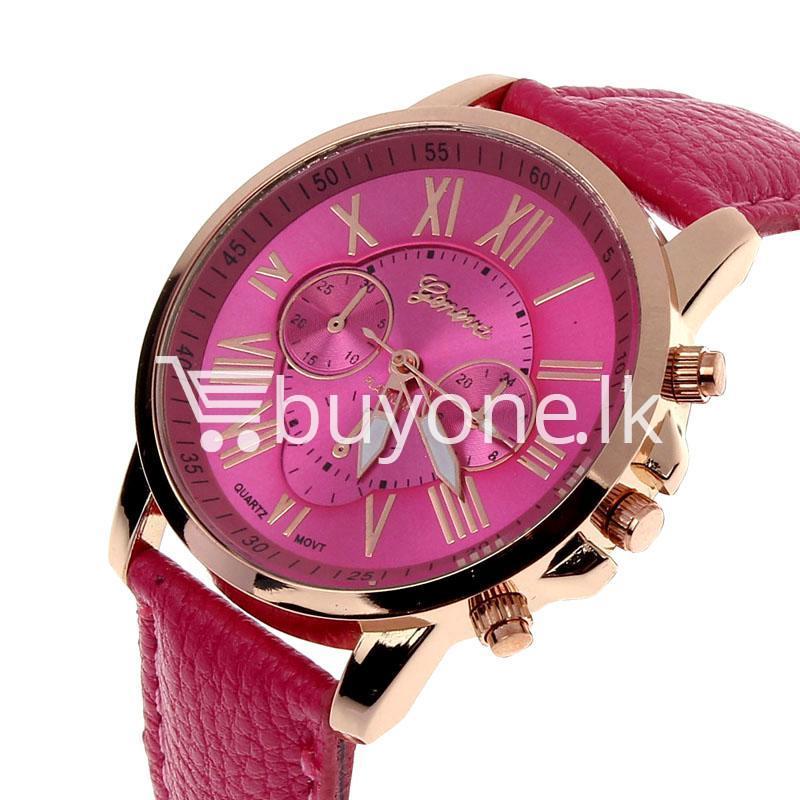 new geneva casual roman numerals quartz women wrist watches watch store special best offer buy one lk sri lanka 11983 - New Geneva Casual Roman Numerals Quartz Women Wrist Watches