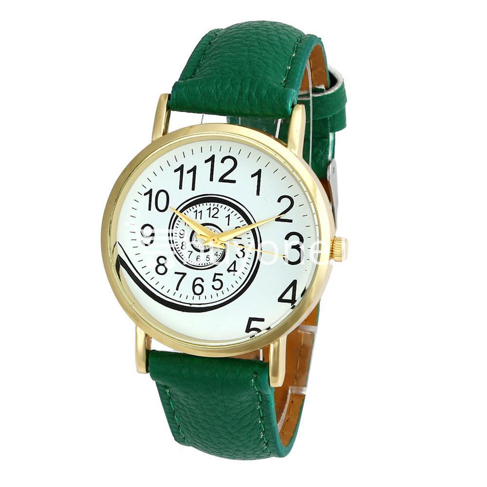 spiral design pattern quartz wrist watch watch store special best offer buy one lk sri lanka 09061 1 - Spiral Design Pattern Quartz Wrist Watch