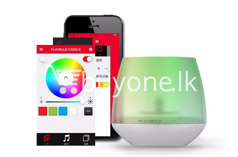 wireless smart led playbulb electric candle night light for iphone htc samsung home and kitchen special best offer buy one lk sri lanka 72414 2 - Wireless Smart LED Playbulb Electric Candle night light For iPhone, HTC, Samsung