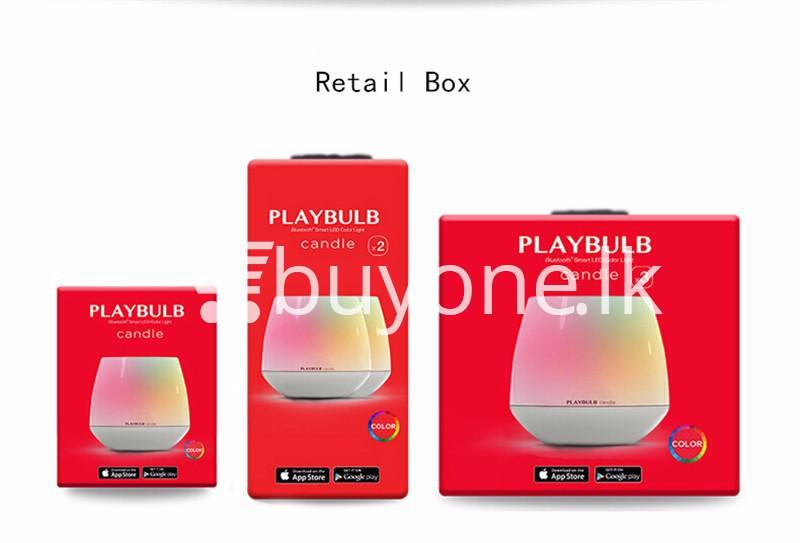 wireless smart led playbulb electric candle night light for iphone htc samsung home and kitchen special best offer buy one lk sri lanka 72417 - Wireless Smart LED Playbulb Electric Candle night light For iPhone, HTC, Samsung