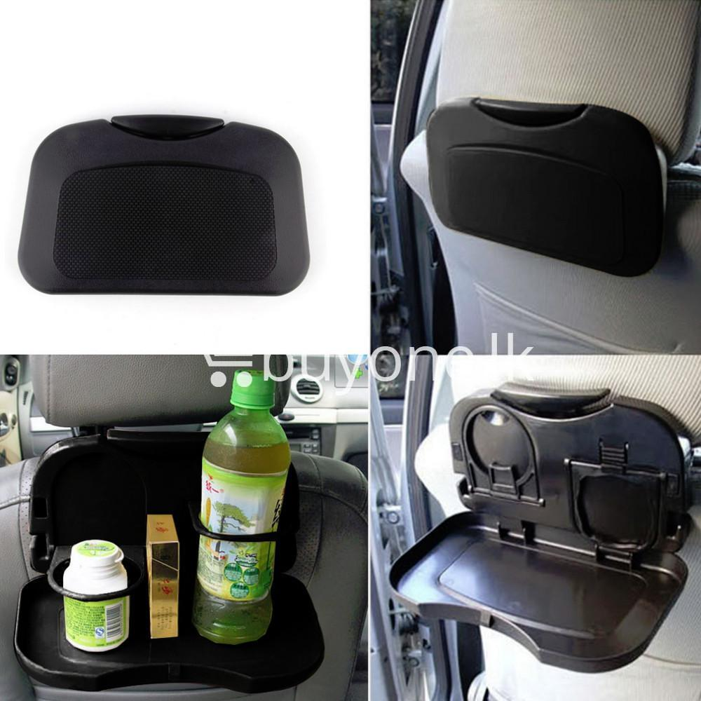 brand new folding auto flexible car back seat table tray holder automobile store special best offer buy one lk sri lanka 85763 - Brand New Folding Auto Flexible Car Back Seat Table Tray Holder