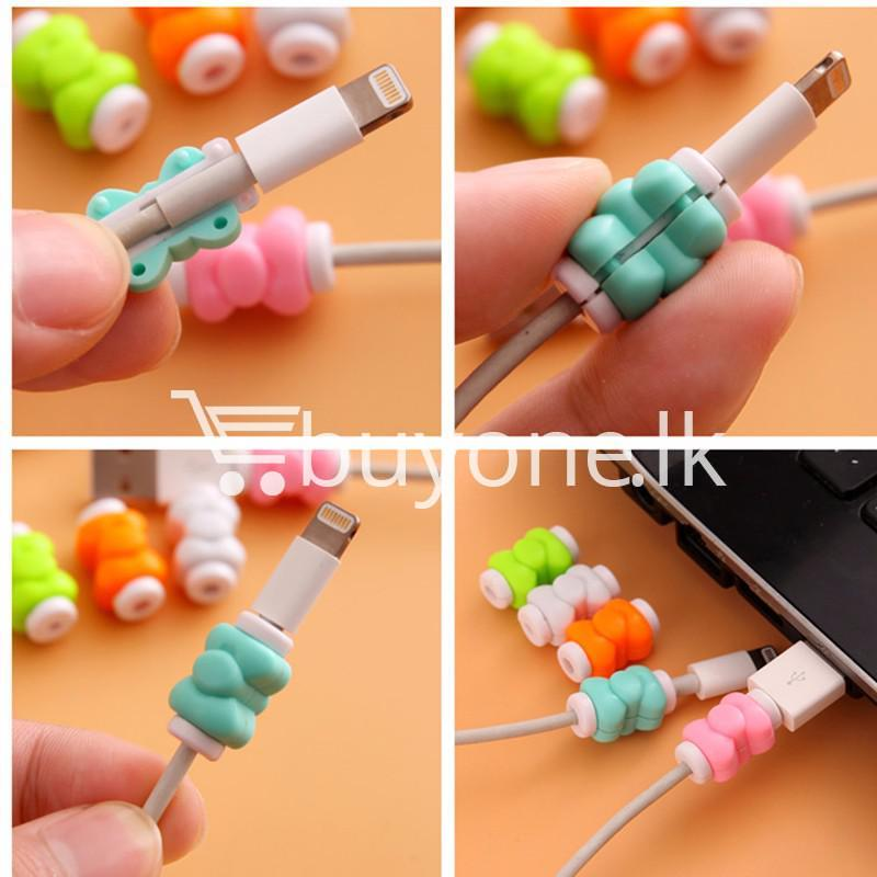 mini portable usb cable earphones protector for apple iphone android mobile store special best offer buy one lk sri lanka 07028 1 - Mini Portable USB Cable Earphones Protector for Apple iPhone & Android