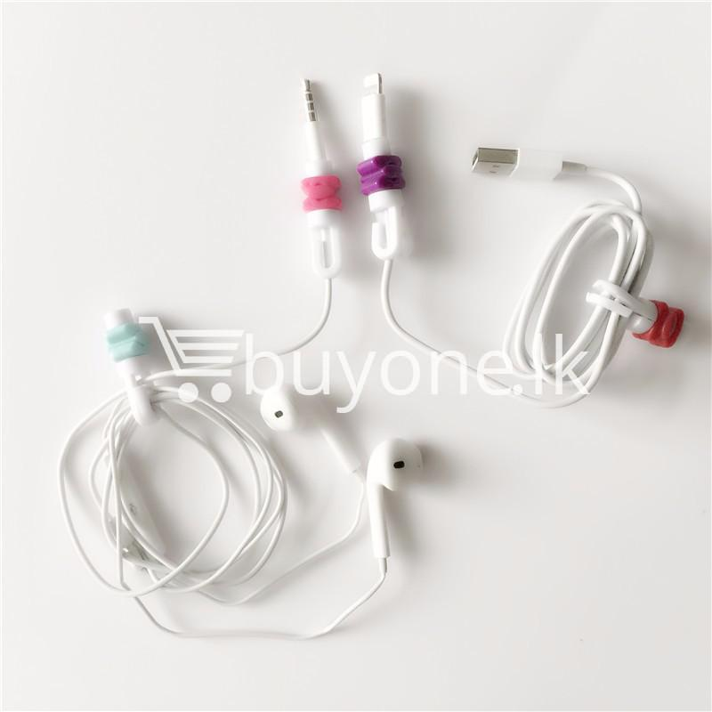 mini portable usb cable earphones protector for apple iphone android mobile store special best offer buy one lk sri lanka 07030 1 - Mini Portable USB Cable Earphones Protector for Apple iPhone & Android