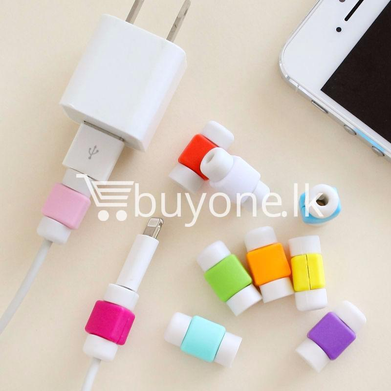 mini portable usb cable earphones protector for apple iphone android mobile store special best offer buy one lk sri lanka 07030 - Mini Portable USB Cable Earphones Protector for Apple iPhone & Android