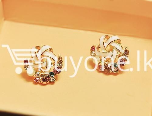 2016 new upscale temperament rhinestone stud earrings jewelry earrings special best offer buy one lk sri lanka 63036 - 2016 New Upscale Temperament Rhinestone Stud Earrings Jewelry
