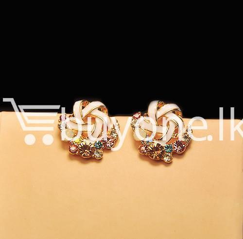 2016 new upscale temperament rhinestone stud earrings jewelry earrings special best offer buy one lk sri lanka 63037 - 2016 New Upscale Temperament Rhinestone Stud Earrings Jewelry