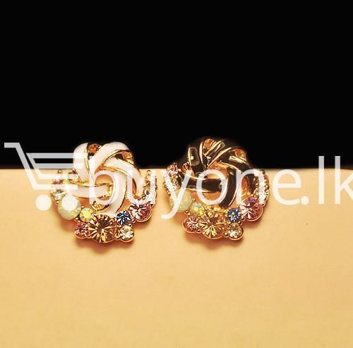 2016 new upscale temperament rhinestone stud earrings jewelry earrings special best offer buy one lk sri lanka 63039 1 - 2016 New Upscale Temperament Rhinestone Stud Earrings Jewelry