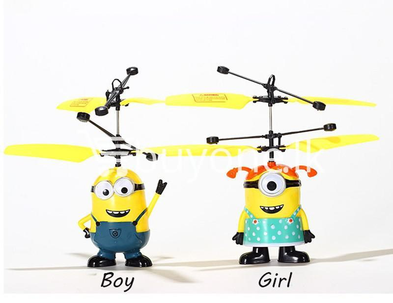 new arrival flying helicopter toy minion despicable me with free remote baby care toys special best offer buy one lk sri lanka 86089 1 - New Arrival : Flying Helicopter Toy Minion Despicable Me with Free Remote