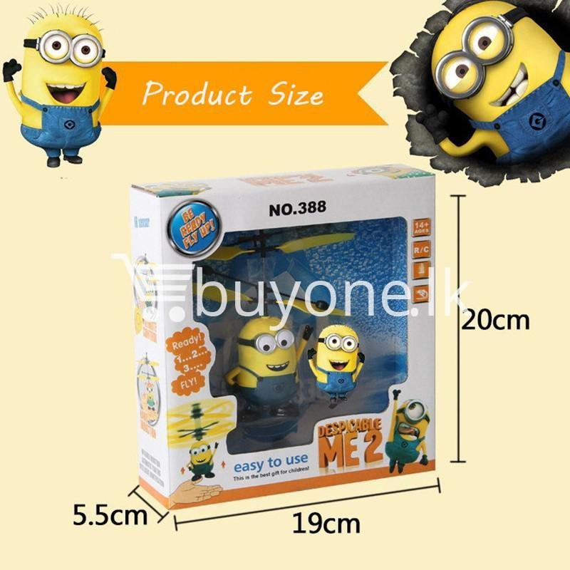 new arrival flying helicopter toy minion despicable me with free remote baby care toys special best offer buy one lk sri lanka 86089 - New Arrival : Flying Helicopter Toy Minion Despicable Me with Free Remote