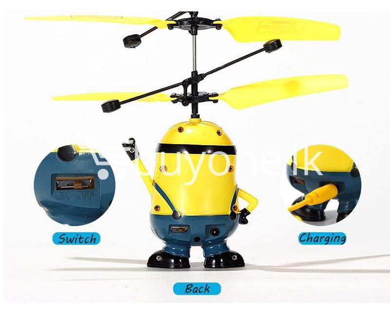 new arrival flying helicopter toy minion despicable me with free remote baby care toys special best offer buy one lk sri lanka 86090 1 - New Arrival : Flying Helicopter Toy Minion Despicable Me with Free Remote