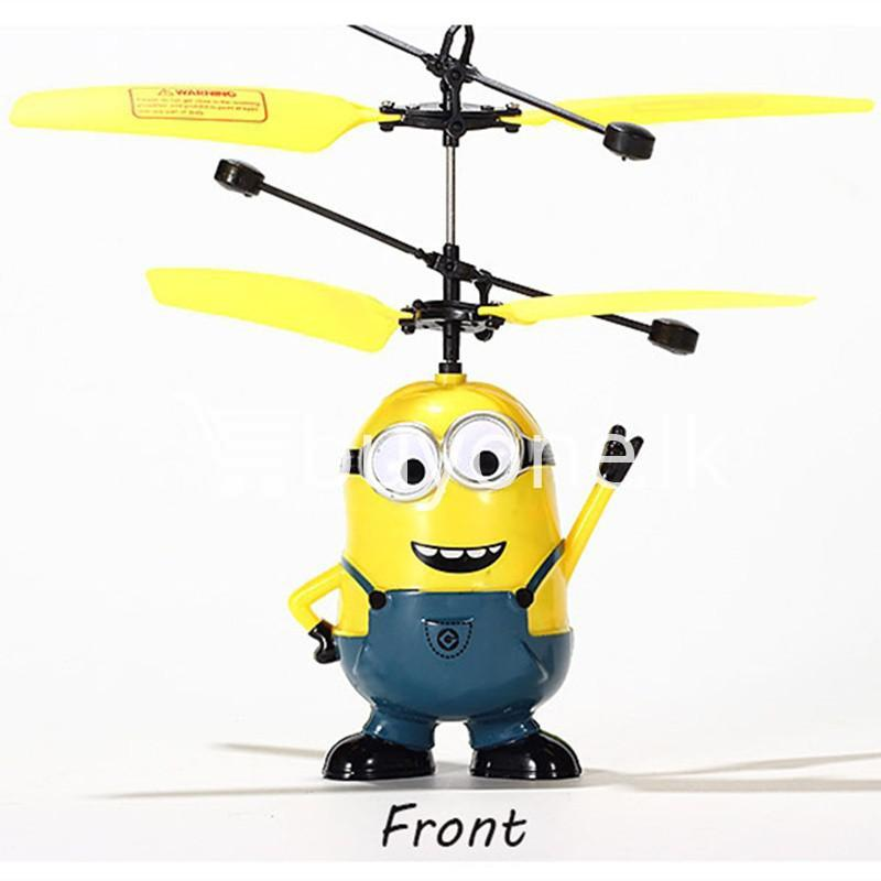 new arrival flying helicopter toy minion despicable me with free remote baby care toys special best offer buy one lk sri lanka 86090 - New Arrival : Flying Helicopter Toy Minion Despicable Me with Free Remote