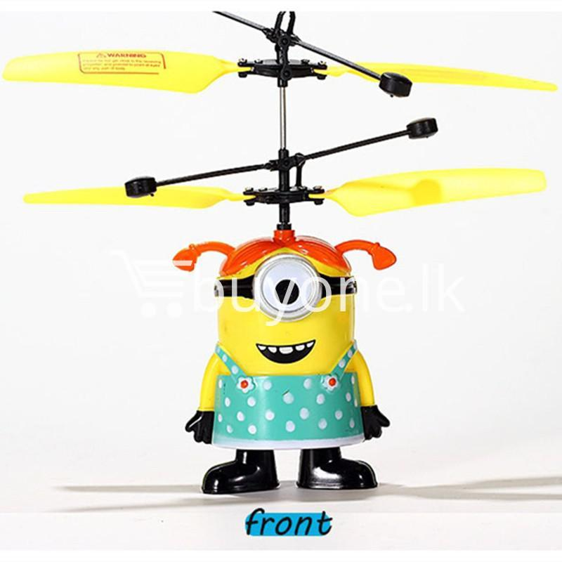 new arrival flying helicopter toy minion despicable me with free remote baby care toys special best offer buy one lk sri lanka 86091 - New Arrival : Flying Helicopter Toy Minion Despicable Me with Free Remote