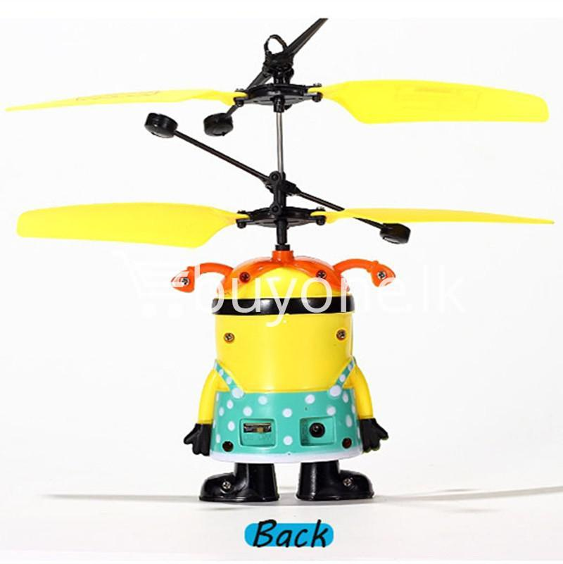 new arrival flying helicopter toy minion despicable me with free remote baby care toys special best offer buy one lk sri lanka 86092 - New Arrival : Flying Helicopter Toy Minion Despicable Me with Free Remote