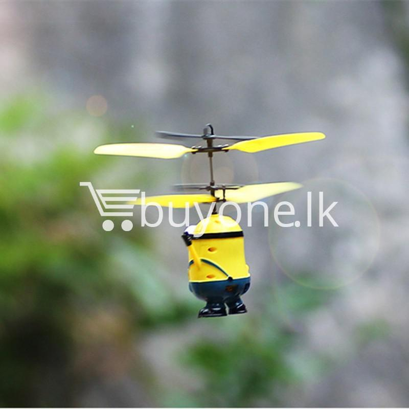 new arrival flying helicopter toy minion despicable me with free remote baby care toys special best offer buy one lk sri lanka 86093 1 - New Arrival : Flying Helicopter Toy Minion Despicable Me with Free Remote