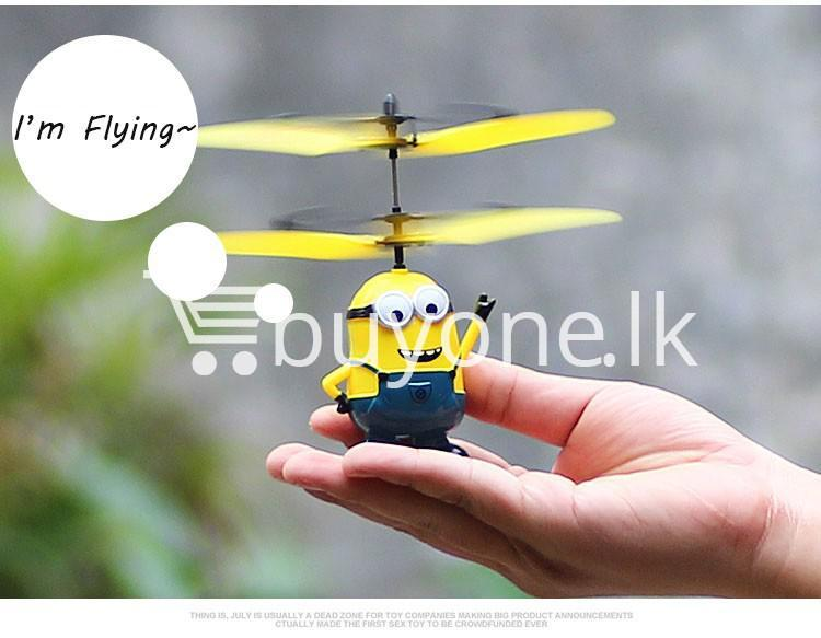 new arrival flying helicopter toy minion despicable me with free remote baby care toys special best offer buy one lk sri lanka 86093 - New Arrival : Flying Helicopter Toy Minion Despicable Me with Free Remote