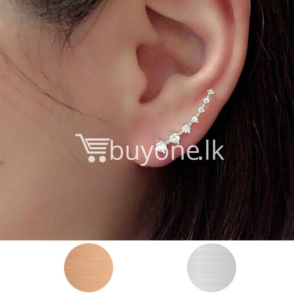 new fashion women rhinestone crystal earrings earrings special best offer buy one lk sri lanka 62695 1 - New Fashion  Women Rhinestone Crystal Earrings