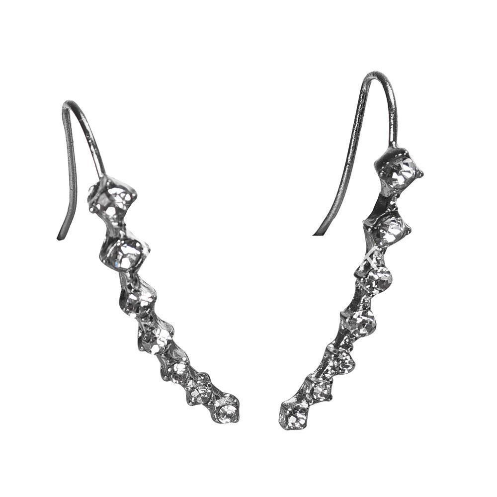 new fashion women rhinestone crystal earrings earrings special best offer buy one lk sri lanka 62698 1 - New Fashion  Women Rhinestone Crystal Earrings