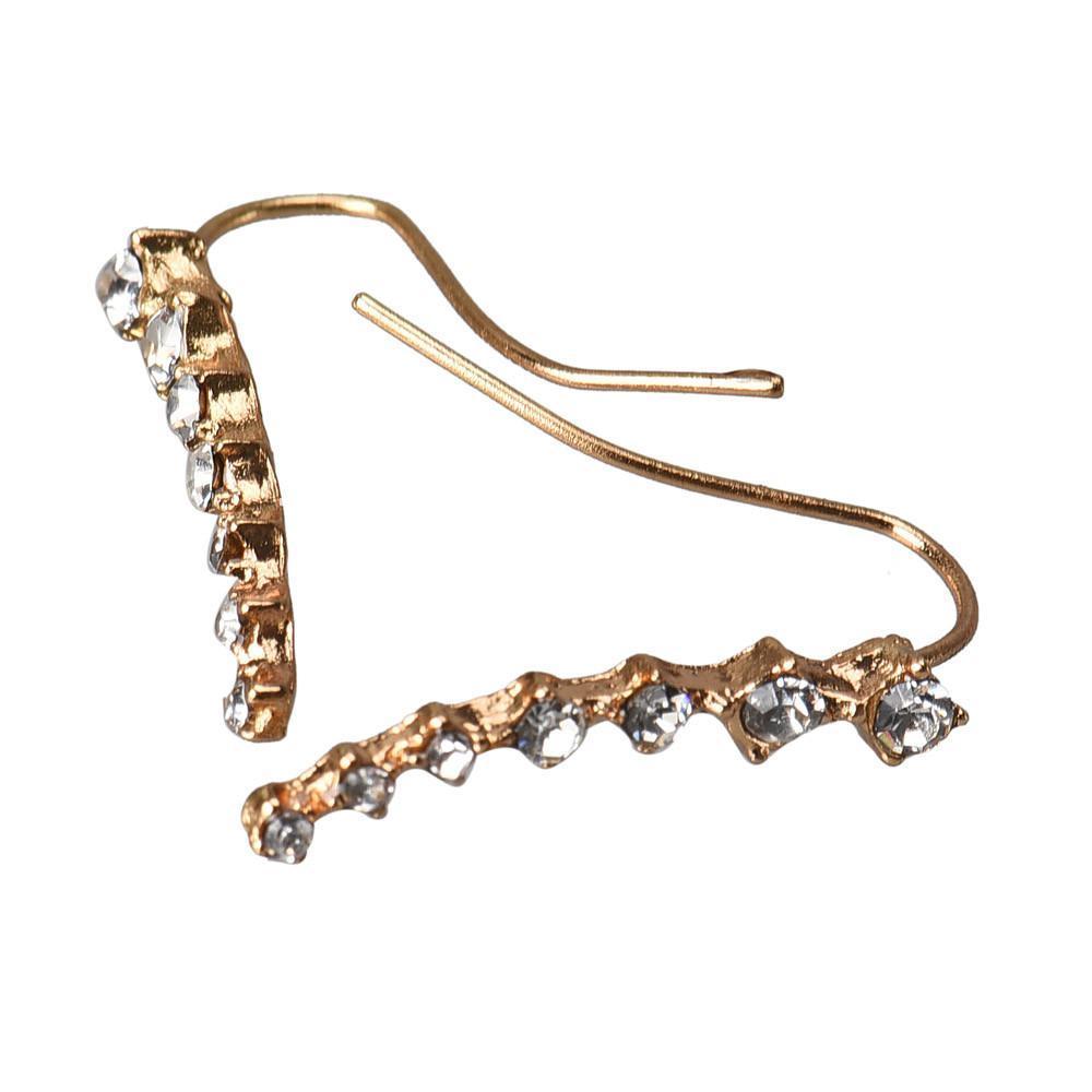 new fashion women rhinestone crystal earrings earrings special best offer buy one lk sri lanka 62699 - New Fashion  Women Rhinestone Crystal Earrings