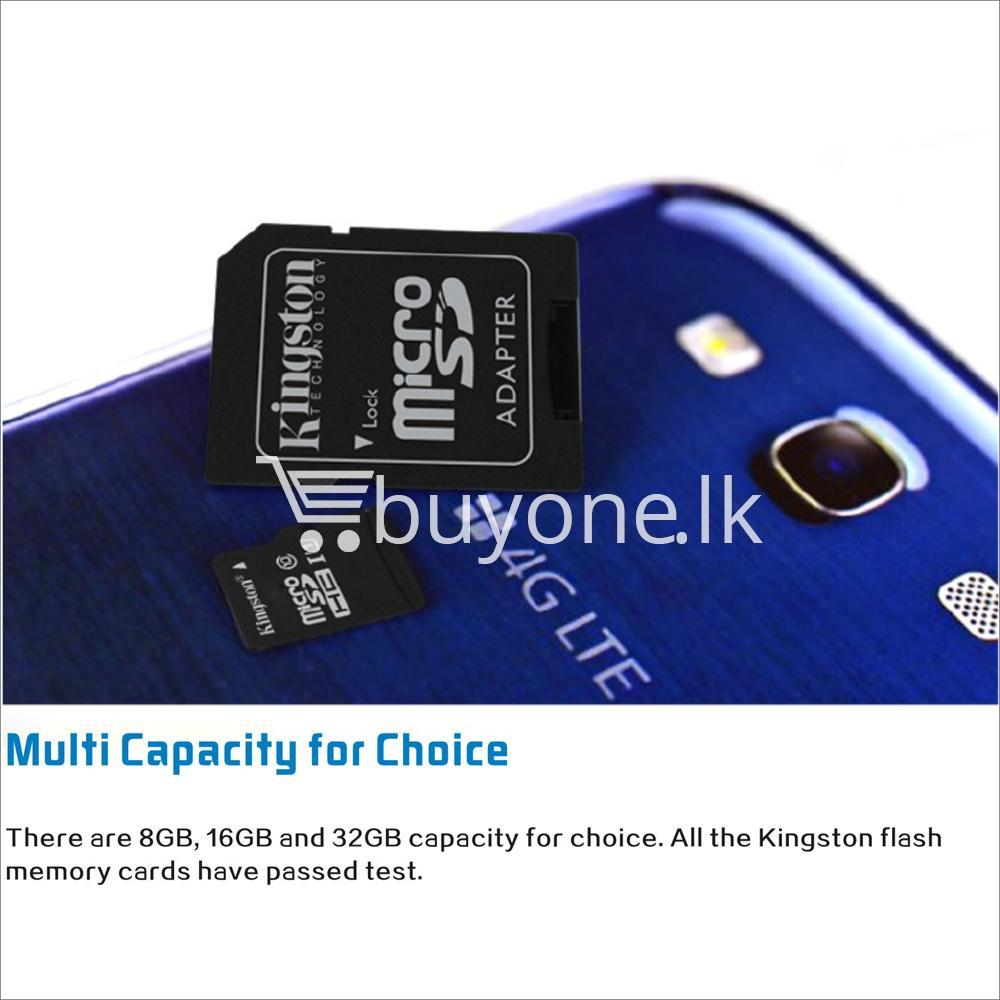 32gb kingston memory card micro sd class 10 sdhc with adapter mobile phone accessories special best offer buy one lk sri lanka 23399 - 32GB Kingston Memory Card Micro SD Class 10 SDHC with Adapter