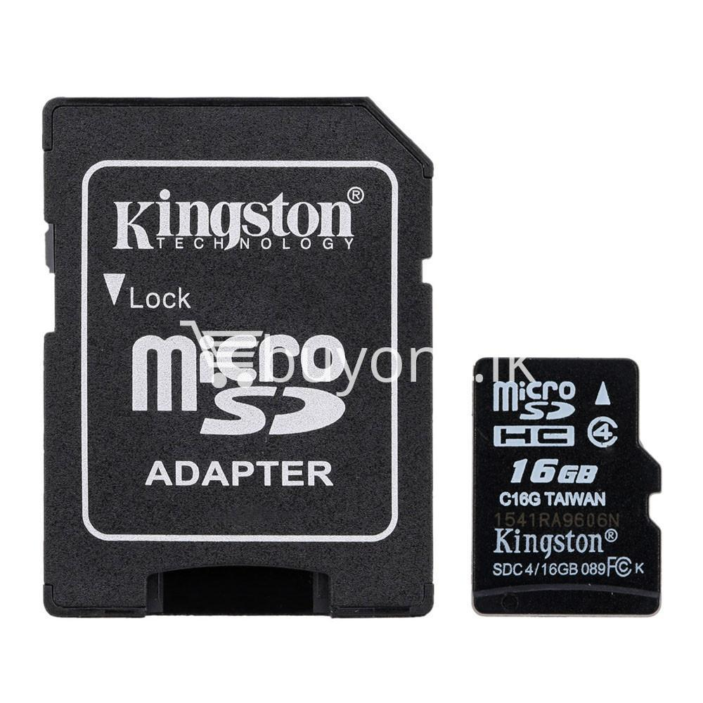 8gb kingston micro sd card memory card with adapter mobile phone accessories special best offer buy one lk sri lanka 24556 - 8GB Kingston Micro SD Card Memory Card with Adapter