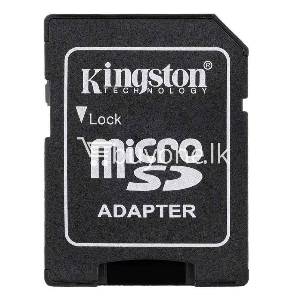 8gb kingston micro sd card memory card with adapter mobile phone accessories special best offer buy one lk sri lanka 24558 - 8GB Kingston Micro SD Card Memory Card with Adapter
