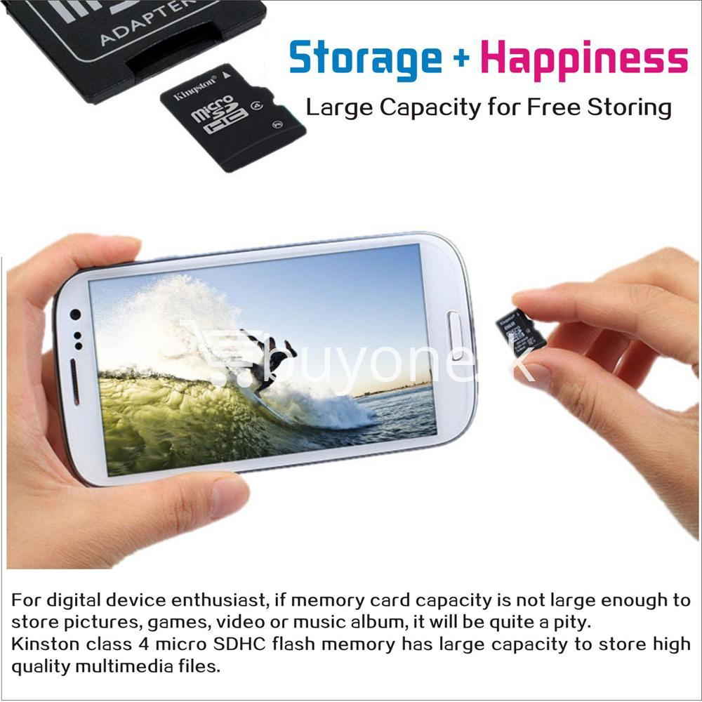 8gb kingston micro sd card memory card with adapter mobile phone accessories special best offer buy one lk sri lanka 24566 - 8GB Kingston Micro SD Card Memory Card with Adapter
