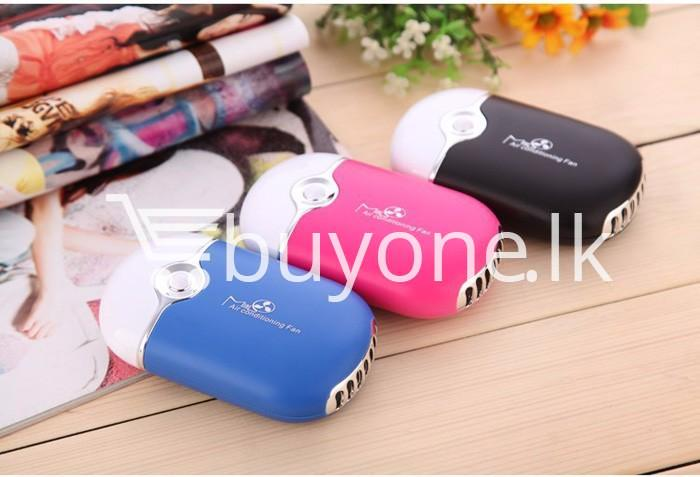 new portable fashion mini fan air conditioning fan home and kitchen special best offer buy one lk sri lanka 93849 - New Portable Fashion Mini Fan Air Conditioning Fan