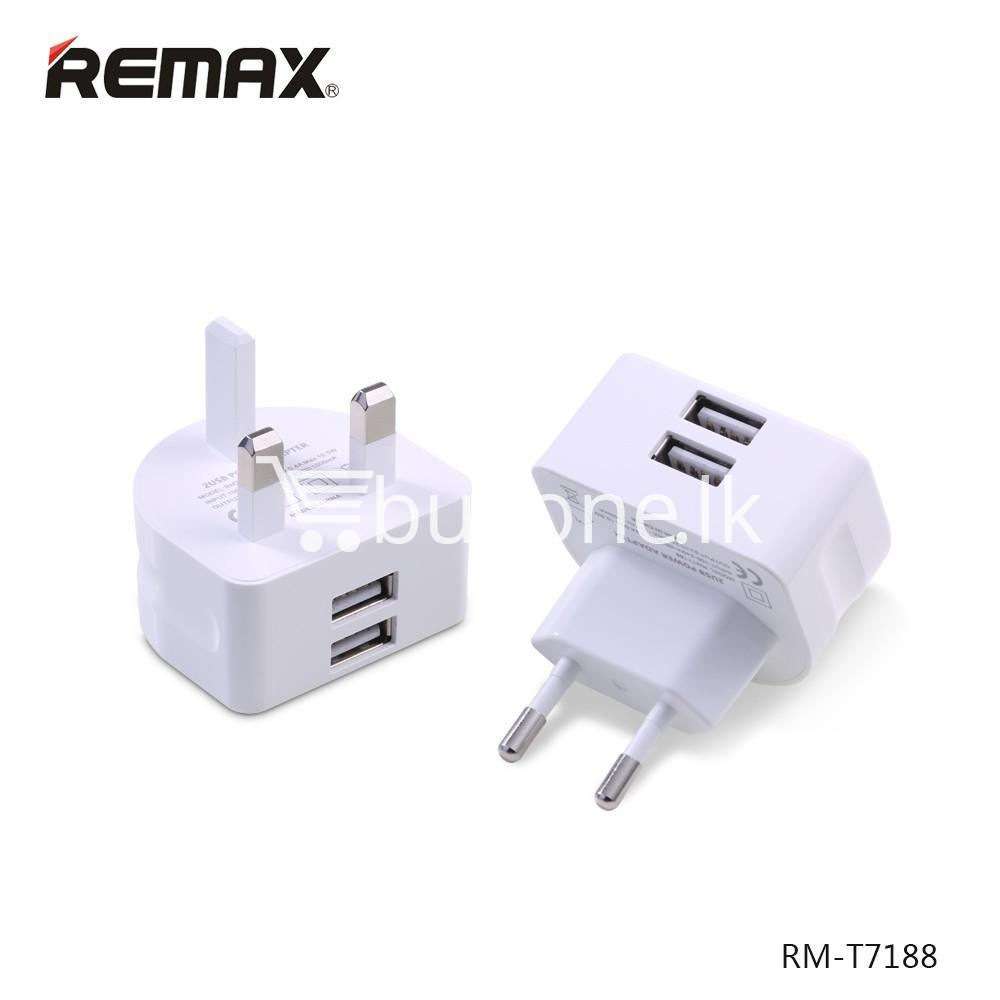 original remax moon wall charger eu usa uk plug for ipad iphone samsung huawei xiaomi mobile phone accessories special best offer buy one lk sri lanka 27005 - Original Remax Moon Wall Charger EU USA UK Plug For iPad iPhone Samsung Huawei Xiaomi