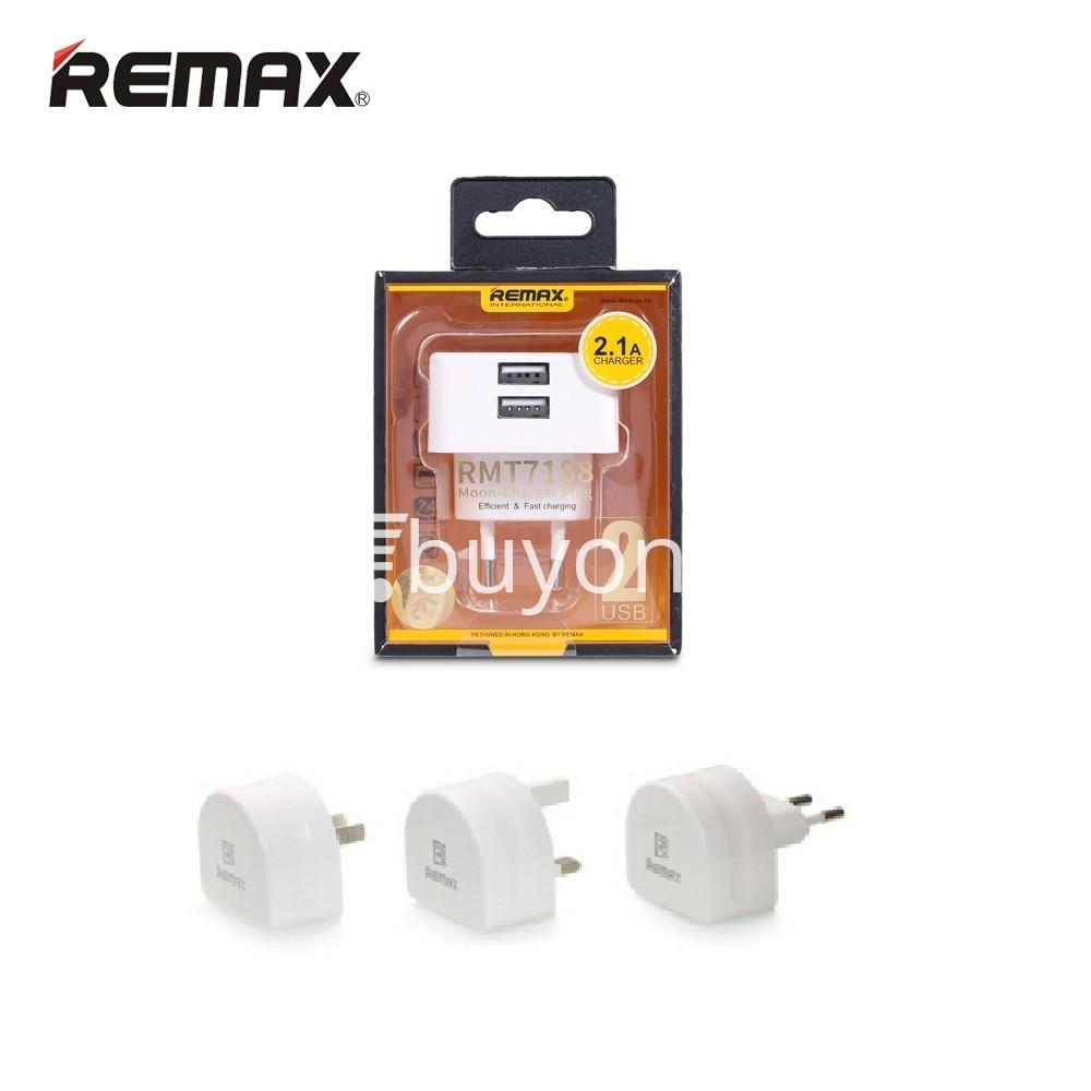 original remax moon wall charger eu usa uk plug for ipad iphone samsung huawei xiaomi mobile phone accessories special best offer buy one lk sri lanka 27006 - Original Remax Moon Wall Charger EU USA UK Plug For iPad iPhone Samsung Huawei Xiaomi