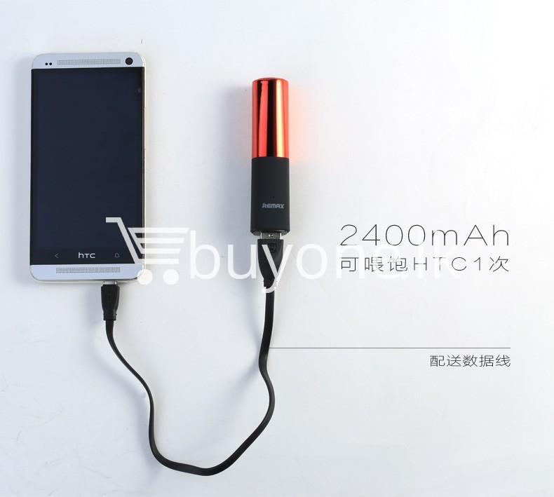 remax 2600mah fashion luxury lipstick power bank mobile phone accessories special best offer buy one lk sri lanka 23674 - REMAX 2600mAh Fashion Luxury Lipstick Power Bank