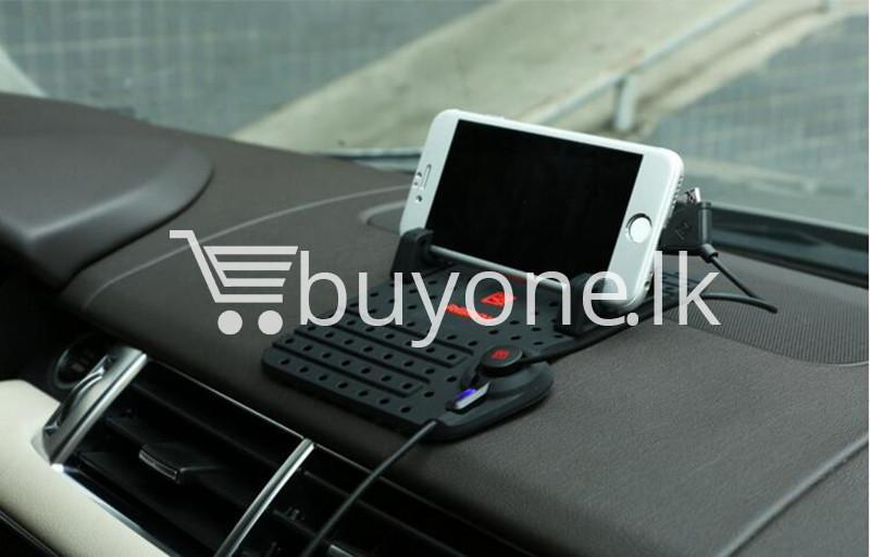 remax universal car holder with 2 in 1 charging output mobile phone accessories special best offer buy one lk sri lanka 18306 - Remax Universal Car Holder with 2 in 1 Charging Output