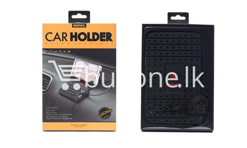 remax universal car holder with 2 in 1 charging output mobile phone accessories special best offer buy one lk sri lanka 18311 - Remax Universal Car Holder with 2 in 1 Charging Output