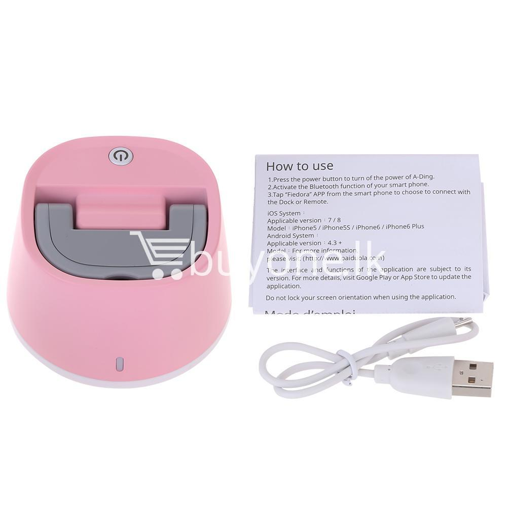 self timer rotatable robot bluetooth selfie for iphones smartphones mobile phone accessories special best offer buy one lk sri lanka 59021 - Self-Timer Rotatable Robot Bluetooth Selfie For iPhones & Smartphones