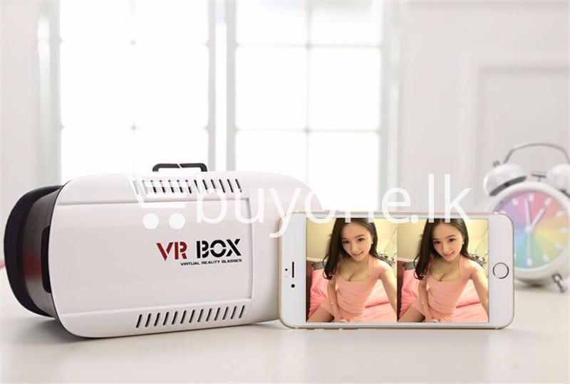 vr box virtual reality 3d glasses with bluetooth wireless remote mobile phone accessories special best offer buy one lk sri lanka 56516 - VR BOX Virtual Reality 3D Glasses with Bluetooth Wireless Remote