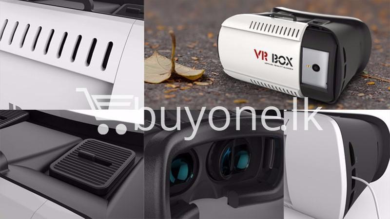 vr box virtual reality 3d glasses with bluetooth wireless remote mobile phone accessories special best offer buy one lk sri lanka 56521 - VR BOX Virtual Reality 3D Glasses with Bluetooth Wireless Remote