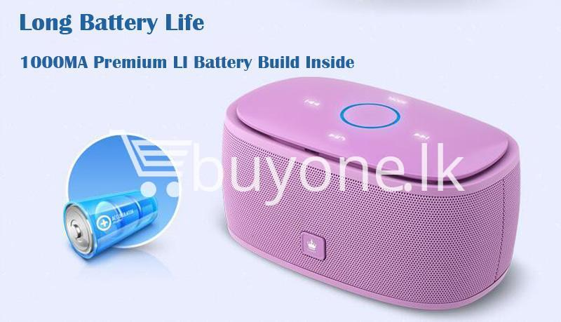 100 genuine kingone super bass portable wireless speaker touch friendly with iron box mobile phone accessories special best offer buy one lk sri lanka 85288 - 100% Genuine Kingone Super Bass Portable Wireless Speaker Touch Friendly with Iron Box