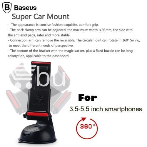 baseus universal super car mount holder for iphone smart phone automobile store special best offer buy one lk sri lanka 46807 - Baseus Universal Super Car Mount Holder for iPhone Smart Phone